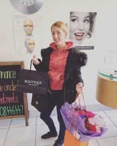 Georgina Viva Dental Studio patient clear braces cosmetic bonding